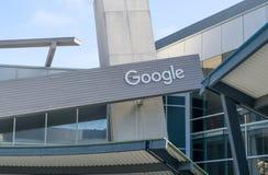 Het het Collectieve Hoofdkwartier en Embleem van Google Stock Foto