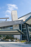 Het het Collectieve Hoofdkwartier en Embleem van Google Royalty-vrije Stock Afbeelding