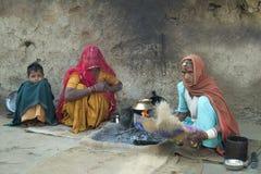 Het het dorpsleven 4 van Rajasthani Royalty-vrije Stock Afbeelding