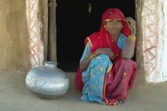 Het het dorpsleven 7 van Rajasthani Royalty-vrije Stock Fotografie
