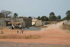 Het het dorpsleven van Bijilo Stock Fotografie