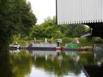 Het het Kanaalfestival van Leeds Liverpool in Burnley Lancashire Stock Foto
