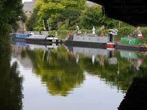 Het het Kanaalfestival van Leeds Liverpool in Burnley Lancashire Royalty-vrije Stock Foto's
