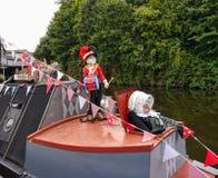 Het het Kanaalfestival van Leeds Liverpool in Burnley Lancashire Stock Foto's