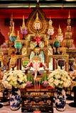 Het het knonedrama of ballet, door dansers wordt uitgevoerd die maskers dragen, Thaise cultuur die Royalty-vrije Stock Foto's