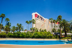 Het het Luchtspiegelinghotel en Casino Stock Afbeelding