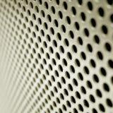 Het het netwerkscherm van het staal Stock Afbeeldingen