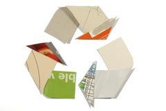 Het het recyclingssymbool van de Lijn Mobius Stock Foto's