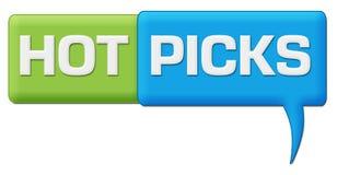 Het hete Symbool van de Oogsten Groenachtig blauwe Commentaar Stock Foto