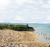 Het hete zand van Ballybunion Stock Fotografie