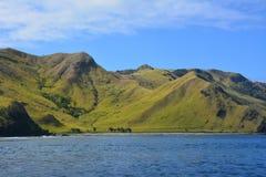 Het heuvelige landschap van Fiji royalty-vrije stock foto
