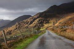 Het hiaat van Dunloe, Co Kerry Ierland Stock Foto's
