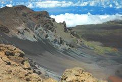 Het Hiaat van Ko'olau, Haleakala royalty-vrije stock foto's