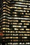 Het high-rise van de Stad van New York bureaugebouw royalty-vrije stock foto