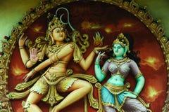 Het Hindoese standbeeld van de God Royalty-vrije Stock Foto