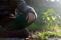 Het hippie wilde leven royalty-vrije stock fotografie
