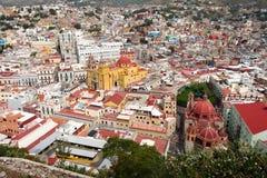 Het historische centrum van de Guanajuatostad stock fotografie