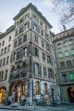 Het historische centrum van Genève Royalty-vrije Stock Afbeelding