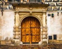 Het historische centrum van Krakau - van Polen royalty-vrije stock afbeelding