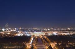 Het historische centrum van Moskou Royalty-vrije Stock Foto
