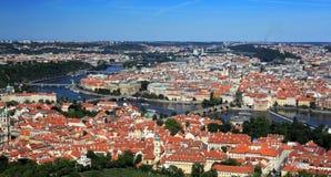 Het historische centrum van Praag Stock Foto's