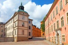 Het historische centrum van Stockholm. Stock Fotografie