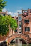 Het historische centrum van Venetië Stock Foto's