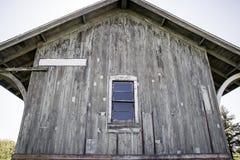 Het historische Depot van de Trein Royalty-vrije Stock Fotografie