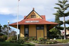 Het historische Depot van de Trein Stock Foto