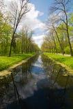Het historische en zeer mooie park van Catherine Stock Foto