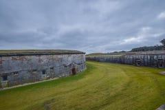 Het historische Fort van de Burgeroorlog stock afbeeldingen