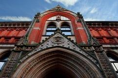 Het historische gebouw Stock Afbeeldingen