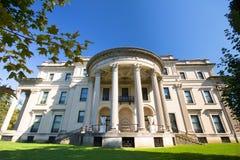 Het historische Herenhuis van Vanderbilt van het Oriëntatiepunt royalty-vrije stock afbeeldingen