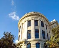 Het historische hof van Louisiane bouwt stock foto