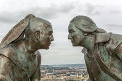 Het historische monument van Pittsburgh Royalty-vrije Stock Foto's