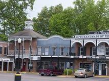 Het Historische Museum van Casey Jones Home & van de Spoorweg in Jackson, Tennessee Royalty-vrije Stock Foto