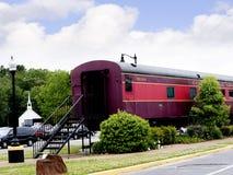 Het Historische Museum van Casey Jones Home & van de Spoorweg in Jackson, Tennessee Stock Foto