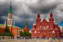 Het historische Museum van de Staat in Moskou Stock Afbeeldingen
