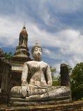 Het Historische Park Thailand van Sukhothai Stock Fotografie