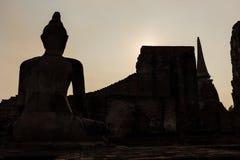 Het Historische Park van Ayutthaya Stock Afbeelding