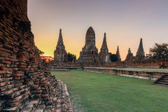Het Historische Park van Ayutthaya Royalty-vrije Stock Afbeelding