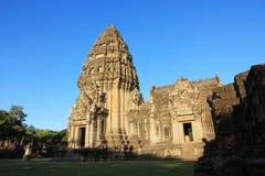 Het Historische Park van Phimai Stock Afbeelding