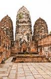 Het Historische Park van Sukhothai Stock Foto