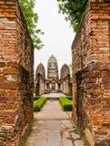 Het Historische Park van Sukhothai Royalty-vrije Stock Afbeelding