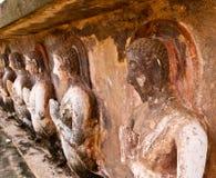 Het Historische Park van Sukhothai Stock Afbeeldingen