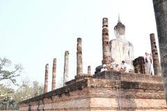 Het Historische Park van Sukhothai Stock Foto's