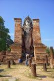 Het Historische Park van Sukhothai in Thailand Royalty-vrije Stock Fotografie