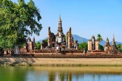 Het Historische Park van Sukhothai in Thailand Royalty-vrije Stock Afbeeldingen