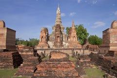 Het historische park van Sukhothai, Thailand Stock Fotografie