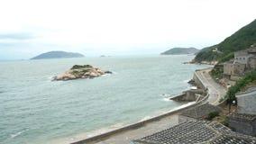 Het historische Qinbi-Dorp stock videobeelden